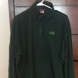 Fleece North Face Pull Over